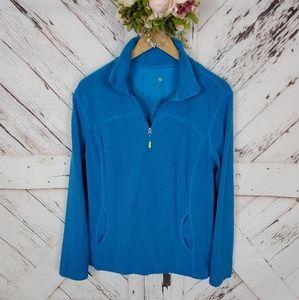 Tangerine Pullover Zip Up Jacket XXL